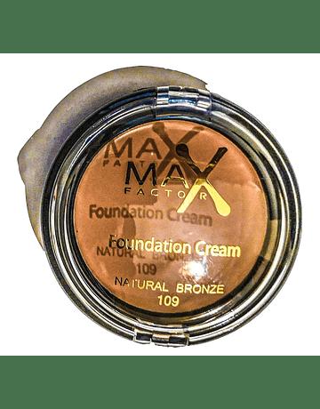MAX FACTOR FOUNDATION CREAM NATURAL BRONZE N.109 10G   ANNO 2020