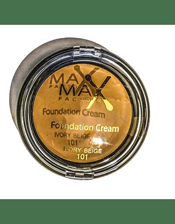 MAX FACTOR FOUNDATION CREAM IVORY BEIGE N.101 10G   ANNO 2020