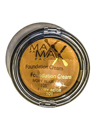 MAX FACTOR FOUNDATION CREAM IVORY BEIGE N.101 10G   ANNO 2020