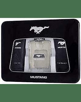 Mustang Ford Mustang EDT 100 ml + balsamo dopobarba 100 ml + gel doccia 100 ml