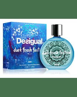 DESIGUAL DARK FRESH FESTIVAL MAN EDT 100ML