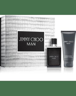 Jimmy Choo Man Edt Eau de Toilette 50 ml + Shower Gel 100 ml