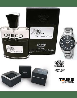 CREED AVENTUS EDP 120ML + OROLOGIO BREIL TRIBE UNISEX