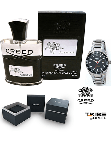 CREED AVENTUS EDP 120ML + OROLOGIO BREIL TRIBE UNISEX