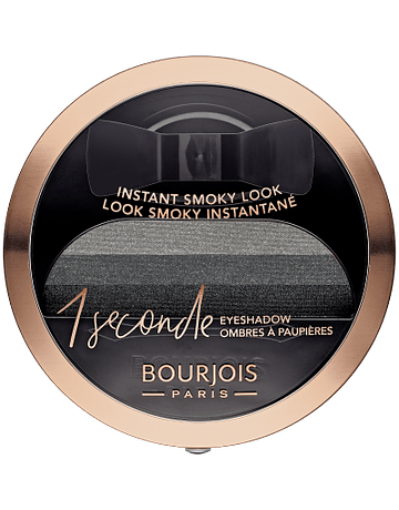 BOURJOIS PARIS OMBRETTO N°1  BLACK ON TRACK