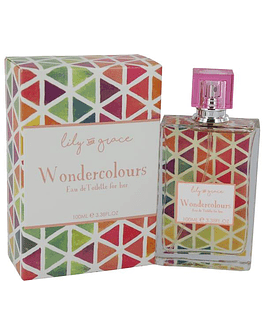 LILY AND GRACE WONDERCOLOURS EDT 100ML