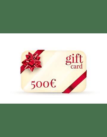 GIFT CARD DA 500
