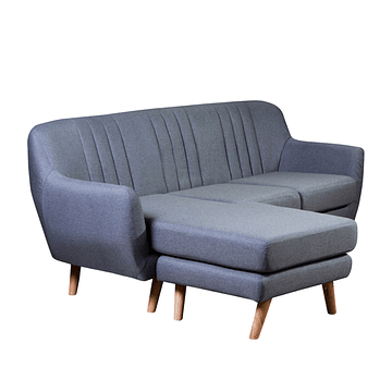 Sofa Seccional Loki Gris