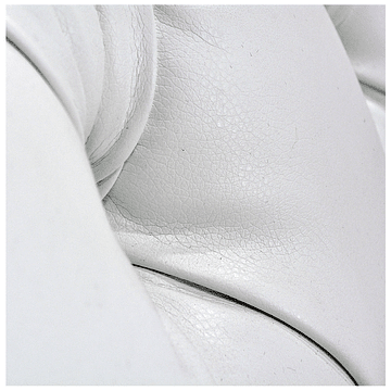 Sofá Seccional Capitone PU - Blanco