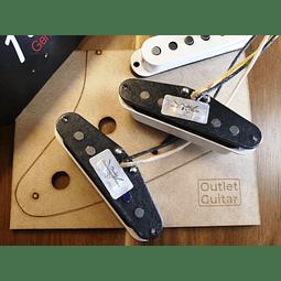 Set Capsulas Texas Special Stratocaster
