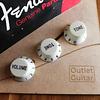 Perillas Fender para strat  (Color Menta)