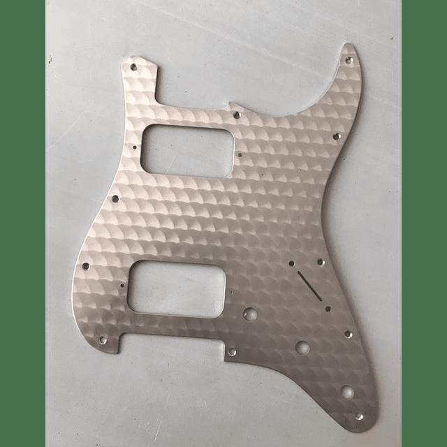 Pickguard  fender de aluminio HH