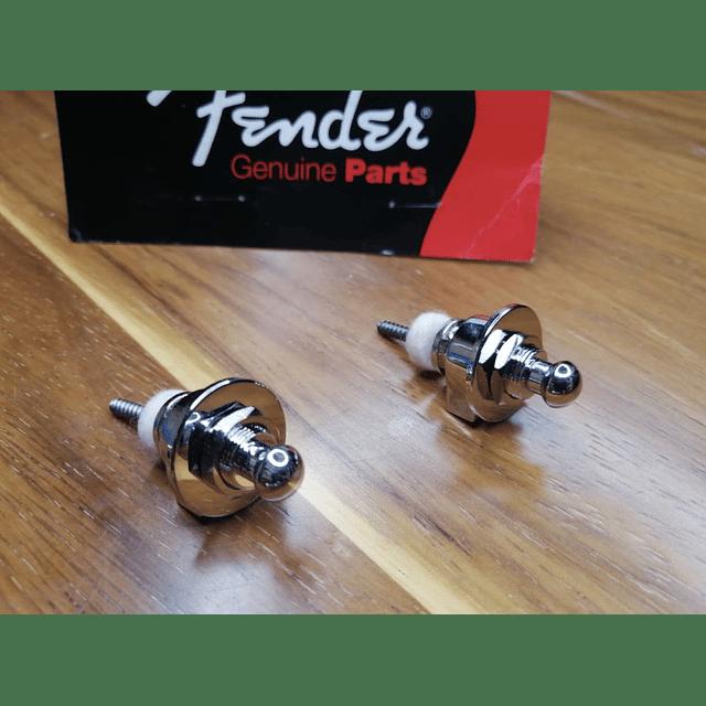 Set Fender Straplock (Cromado)