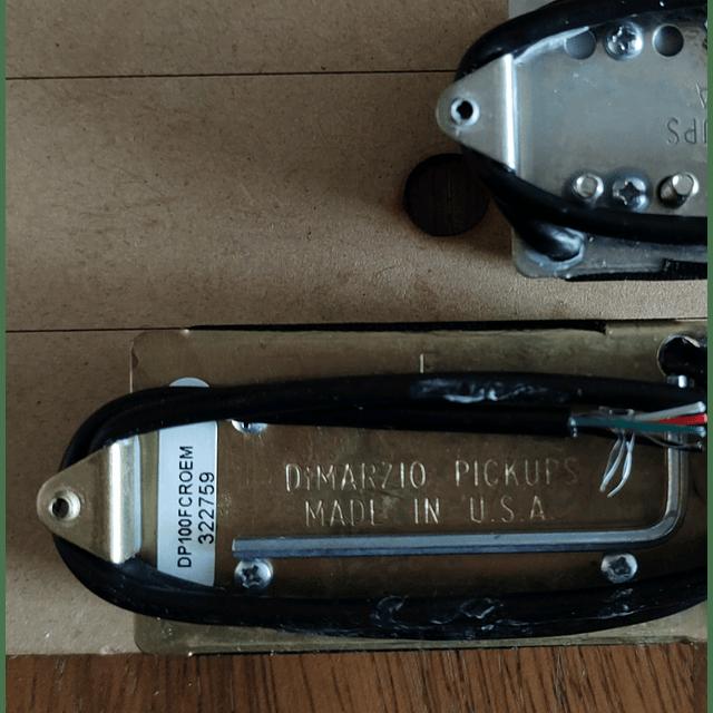 Dimarzio DP100F super Distorsión