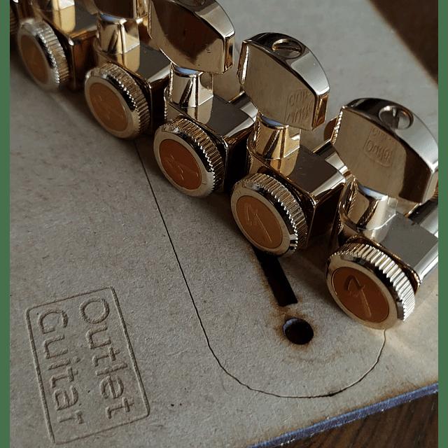 Clavijas Fender locking doradas