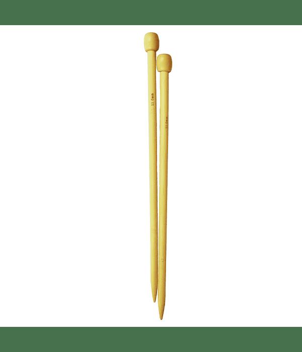 Palillo recto bambu 35 cm