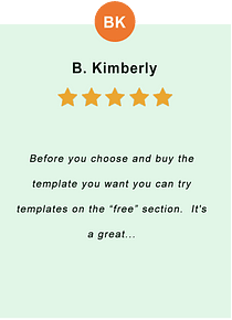 B. Kimberly - feedback of our valued customer