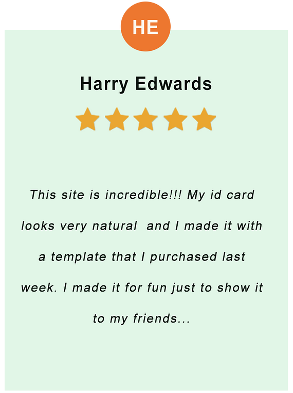 Harry Edwards - feedback of our valued customer
