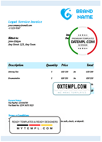 # automate bot universal multipurpose invoice template in Word and PDF format, fully editable
