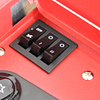 Turbocalefactor Infrarrojo GRX-6200ET Rojo Rodante