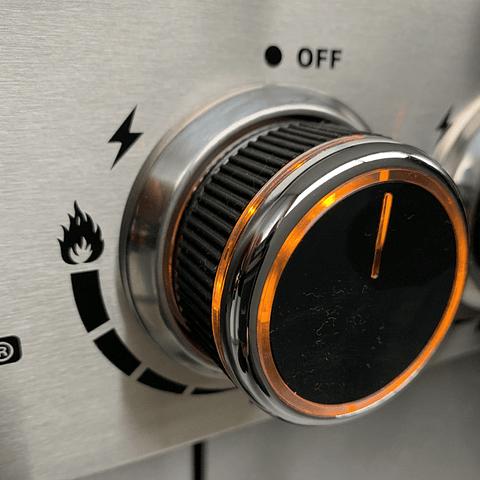 Parrilla Gas UT GRILLER 4QA LED INOX