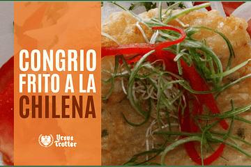 Congrio frito a la chilena