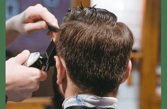 Corte normal (no degradé, ni servicio Barbería)hombre o niño.Servicio puede ser usado hasta el 31 de Marzo de 2021.