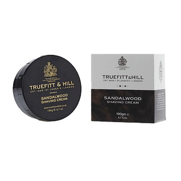 Crema de Afeitar Sandalwood Pote Truefitt and Hill 190gr