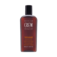 Shampoo Power Cleanser Style Remover AMERICAN CREW 250ml