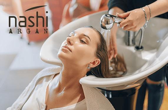Tratamiento Máscara Nashi Argan contiene los beneficios directos del Aceite de Argán, volviendo el cabello suave, luminoso y sedoso. Promoción válida para todo largo de cabello hasta el 30 de Junio o hasta agotar número de invitaciones disponibles. Servicio puede ser usado hasta el 30 de Junio.