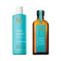 Pack Hidratante Moroccanoil Shampoo + Aceite