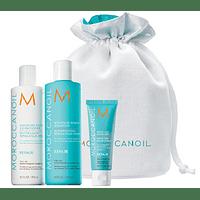 Pack Reparacion Moroccanoil Shampoo + Acondicionador 250ml + Tratamiento 20ml