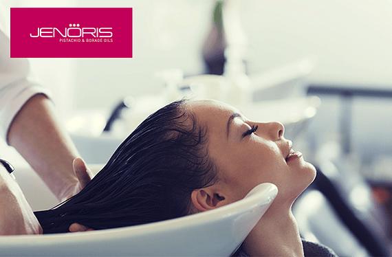 Tratamiento Máscara Jenoris contiene los beneficios directos del Aceite de Argán y linaza, volviendo el cabello suave, luminoso y sedoso. Promoción válida para todo largo de cabello hasta el30 de Abril de2020o hasta agotar número de invitaciones disponibles. Servicio puede ser usado hasta el30 de Abril de2020.