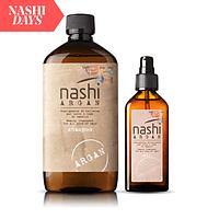 Shampoo 500 ml + Aceite 100 ml NASHI ARGAN