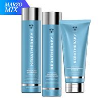 MIX Shampoo Acondicionador Máscara Keratherapy