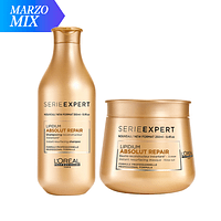 MIX Shampoo + Máscara Absolut Repair Lipidium