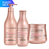 MIX Shampoo 500ml + Acondicionador+ Máscara Vitamino Color A-OX