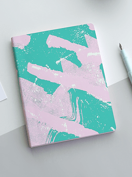 CUADERNO SCRATCHED CANDY