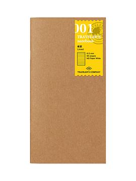 Refill Lineas 001 TRAVELER'S Notebook