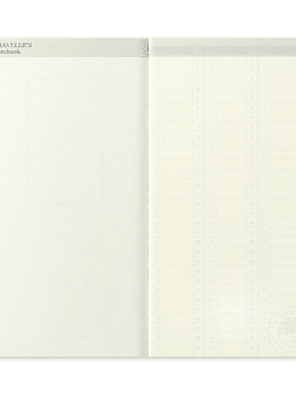 TRAVELER'S Notebook Refill Weekly Free Vertical 018