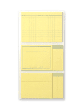 TRAVELER'S Notebook Refill Sticky Memo Pad 022