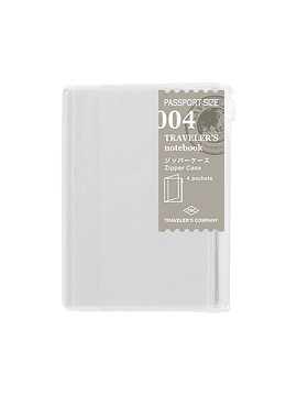 TRAVELER'S Notebook Refill Zipper Pocket 004 Passport