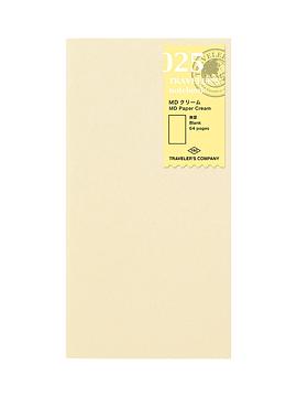 Refill MD Paper Cream 025 TRAVELER´S Notebook