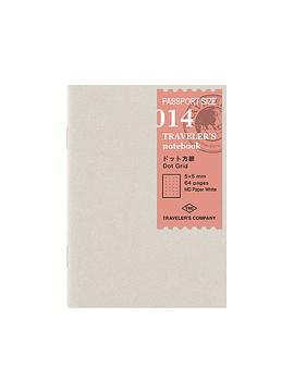 Refill Puntos 014  Passport TRAVELER´S Notebook
