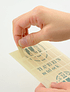 TRAVELER´S Notebook Refill Double-Sided Sticker 010