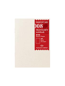 Drawing Paper 008 Passport TRAVELER´S Notebook