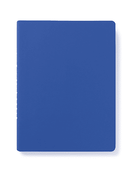 CUADERNO INTO THE BLUE