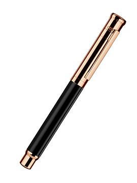 PLUMA D04 BLACK SHINY ROSE