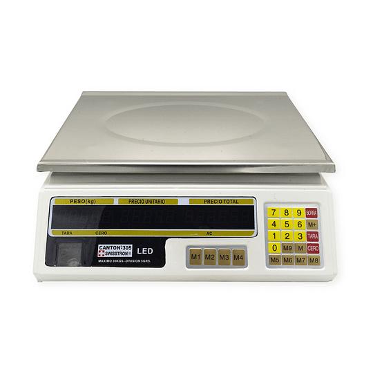 BALANZA CANTON - 305 SWISSTRON LED