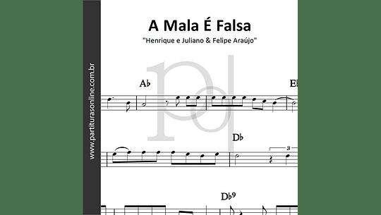 A Mala é Falsa | Henrique e Juliano & Felipe Araújo